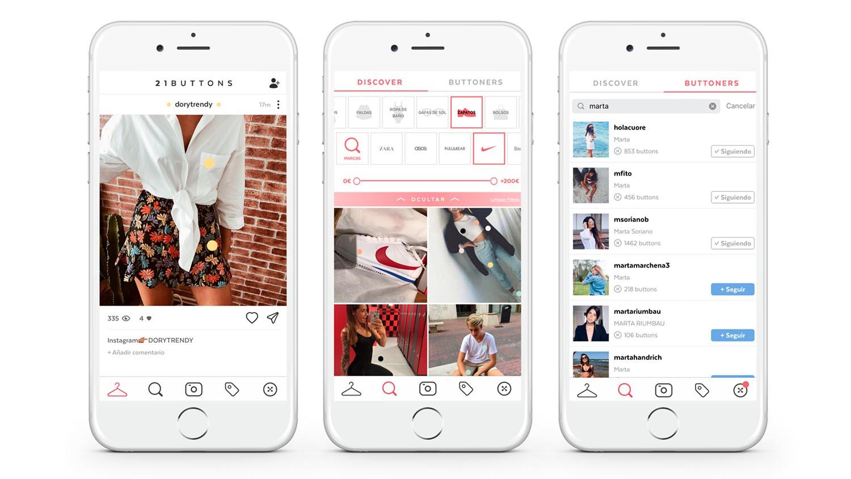 21 buttons, il social network della moda: cos'è e come funziona thumbnail