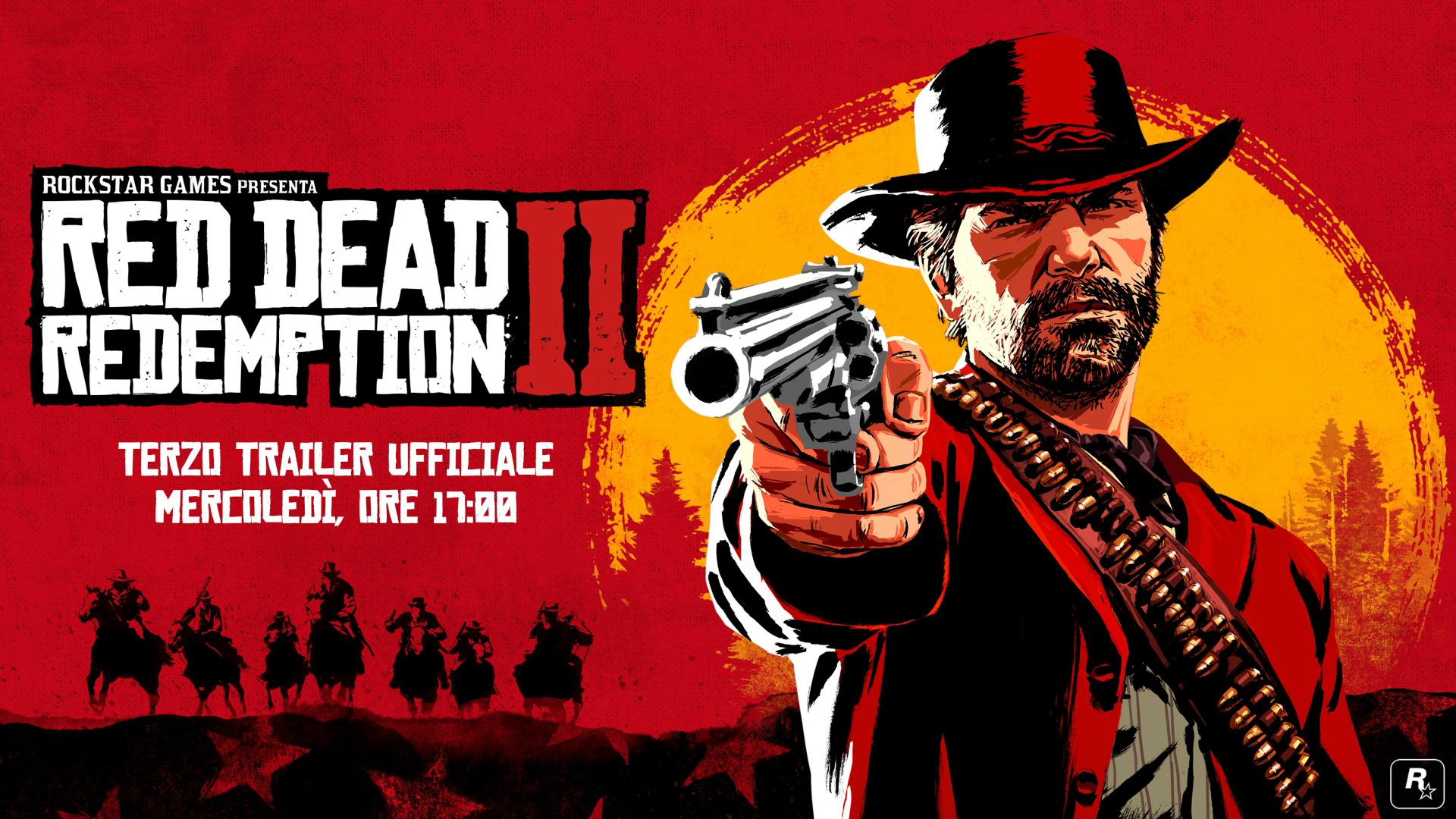 Red Dead Redemption 2: il terzo trailer uscirà mercoledì 2 maggio thumbnail