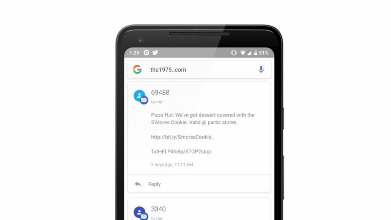 Android, uno strano bug di Google App mostra i nostri messaggi privati thumbnail