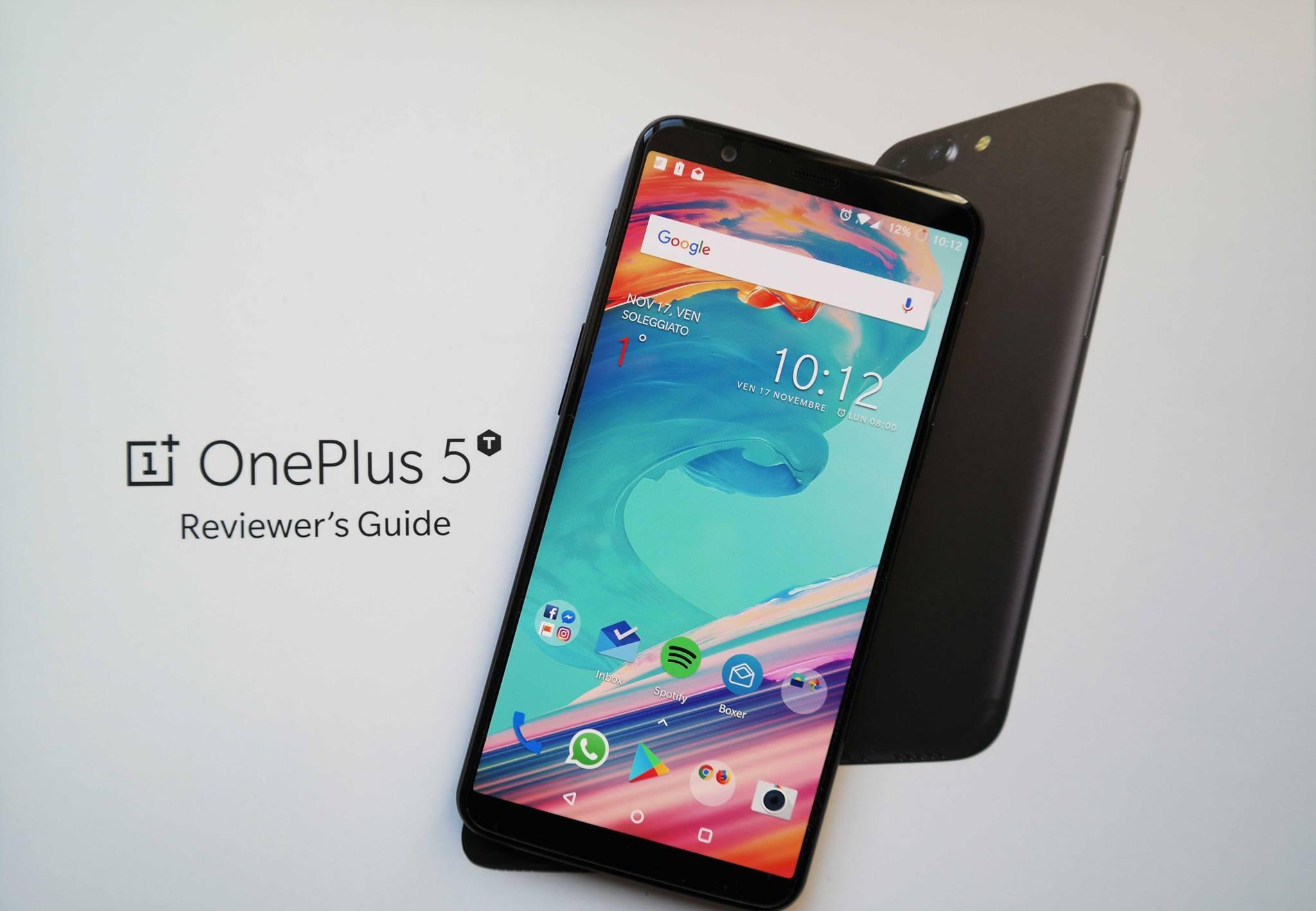 OnePlus 5T è ufficiale: tutto quello che c'è da sapere thumbnail