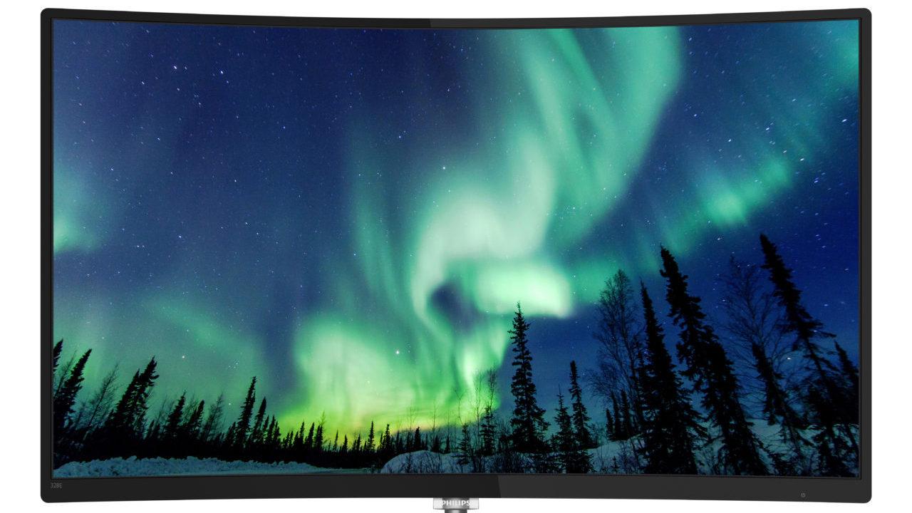 Philips presenta il nuovo monitor curvo LCD da 32 pollici thumbnail