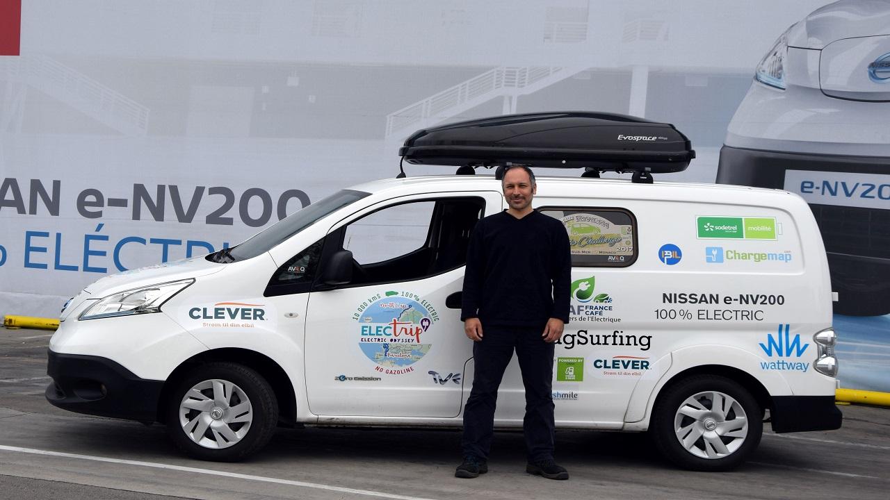 Nissan e-NV200 Electrip: il tour di 10.000 km a zero emissioni thumbnail