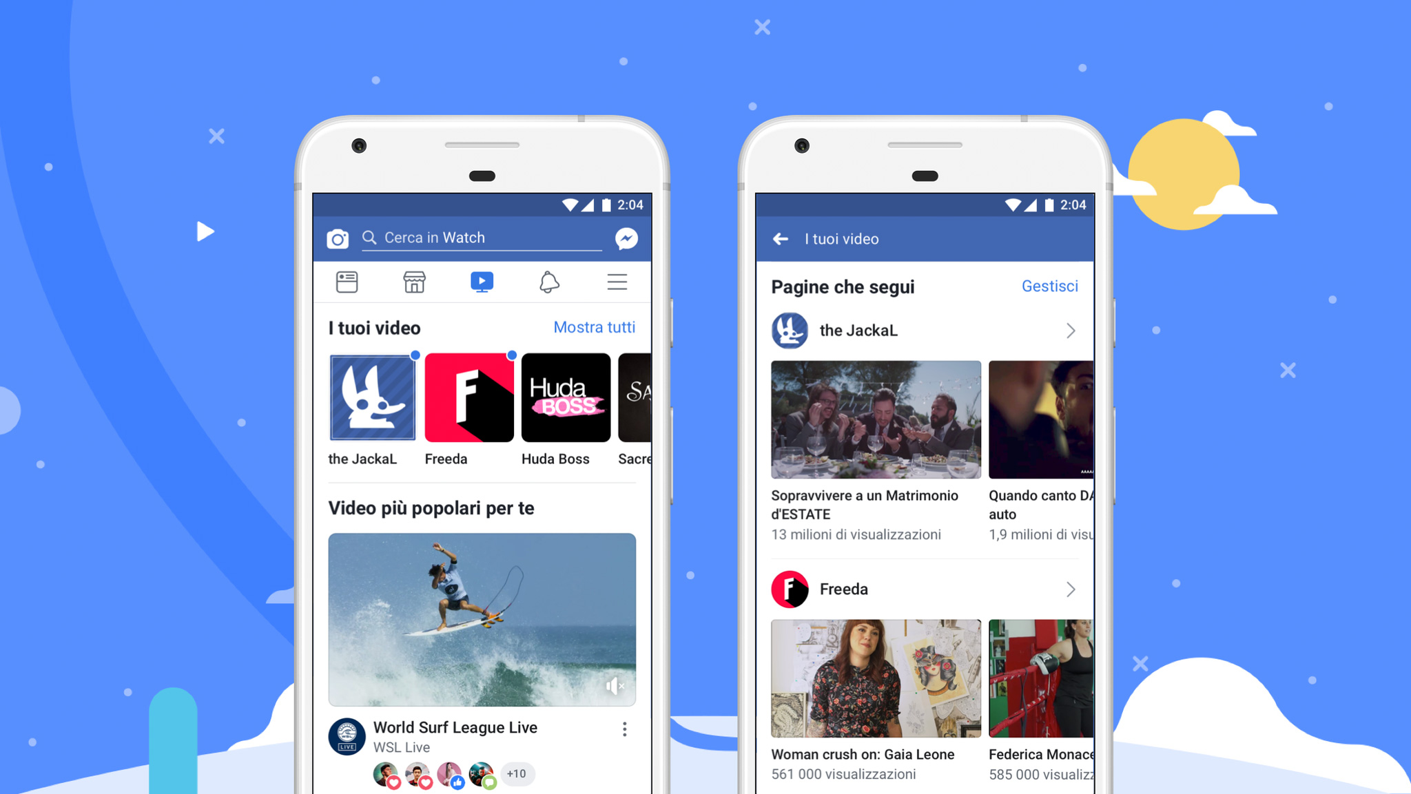 Facebook Watch, arriva oggi in Italia la TV del colosso social thumbnail