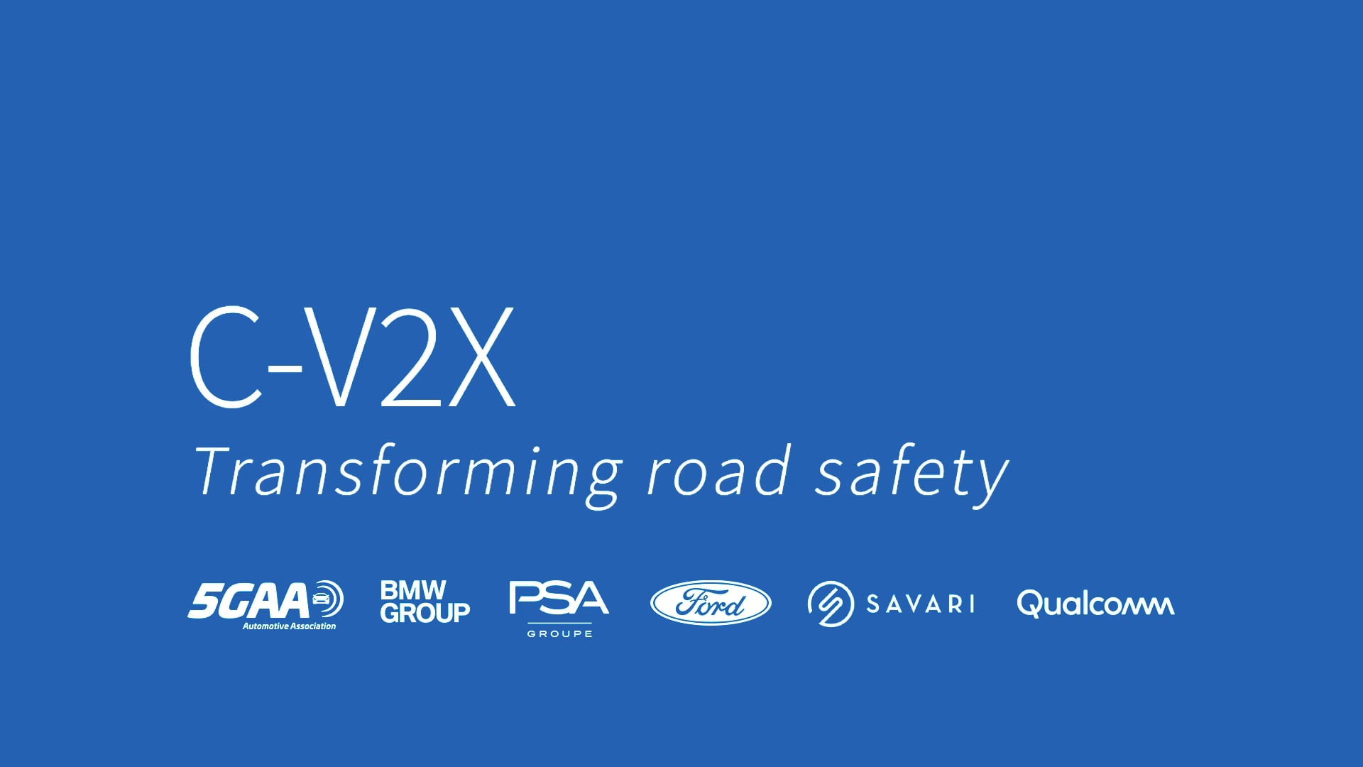Ford, BMW, PSA e 5G Automotive Association insieme per sperimentare il sistema C-V2X thumbnail