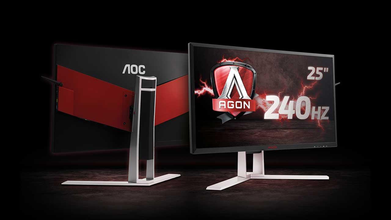 AGON AG251FG: il nuovo monitor di AOC con NVIDIA G-Sync thumbnail