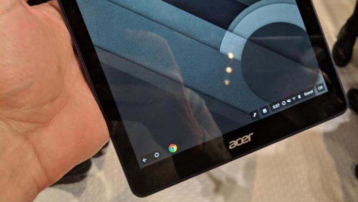 Bett Show 2018: mostrato il primo tablet Acer Chrome OS thumbnail