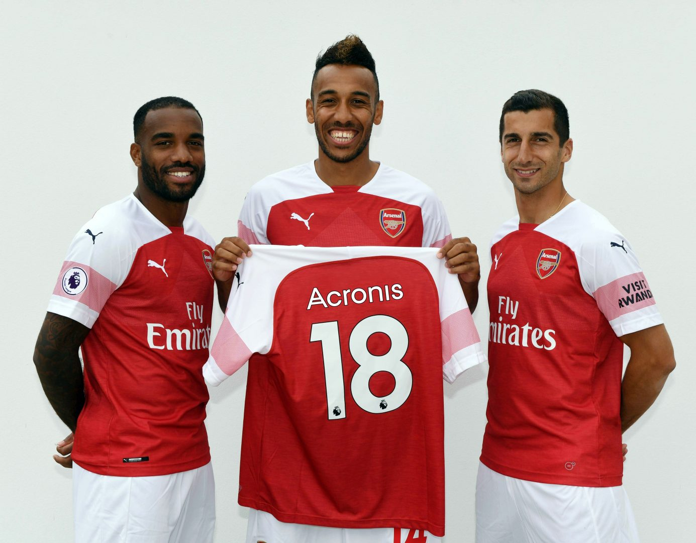Acronis annuncia la partnership tecnologica con l'Arsenal Football Club thumbnail
