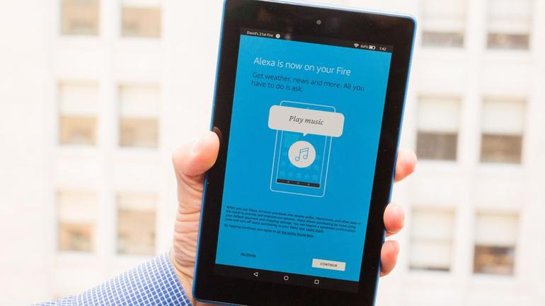 Amazon estende Alexa in modalità hands-free su Tablet Fire 7 e HD 8 thumbnail