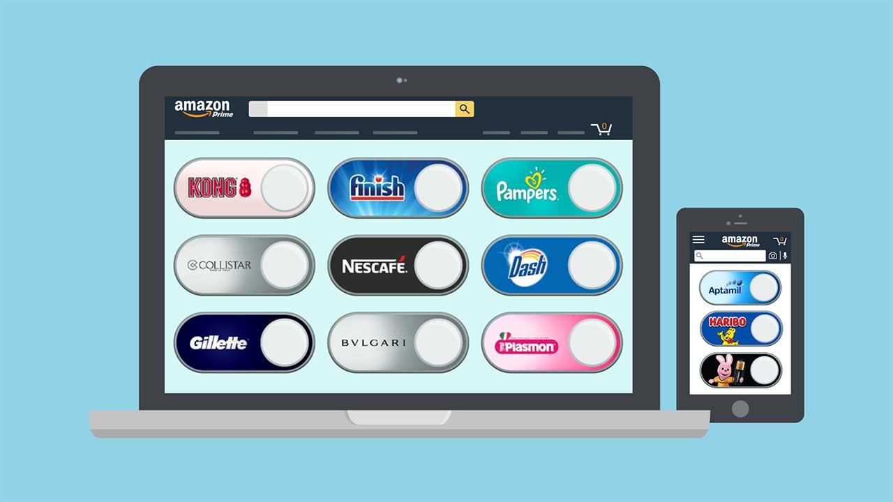 Arrivano i Virtual Dash Button di Amazon: ecco come funzionano thumbnail