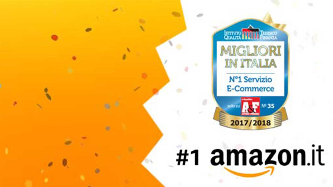Amazon ringrazia i suoi clienti con uno sconto valido solo per oggi thumbnail