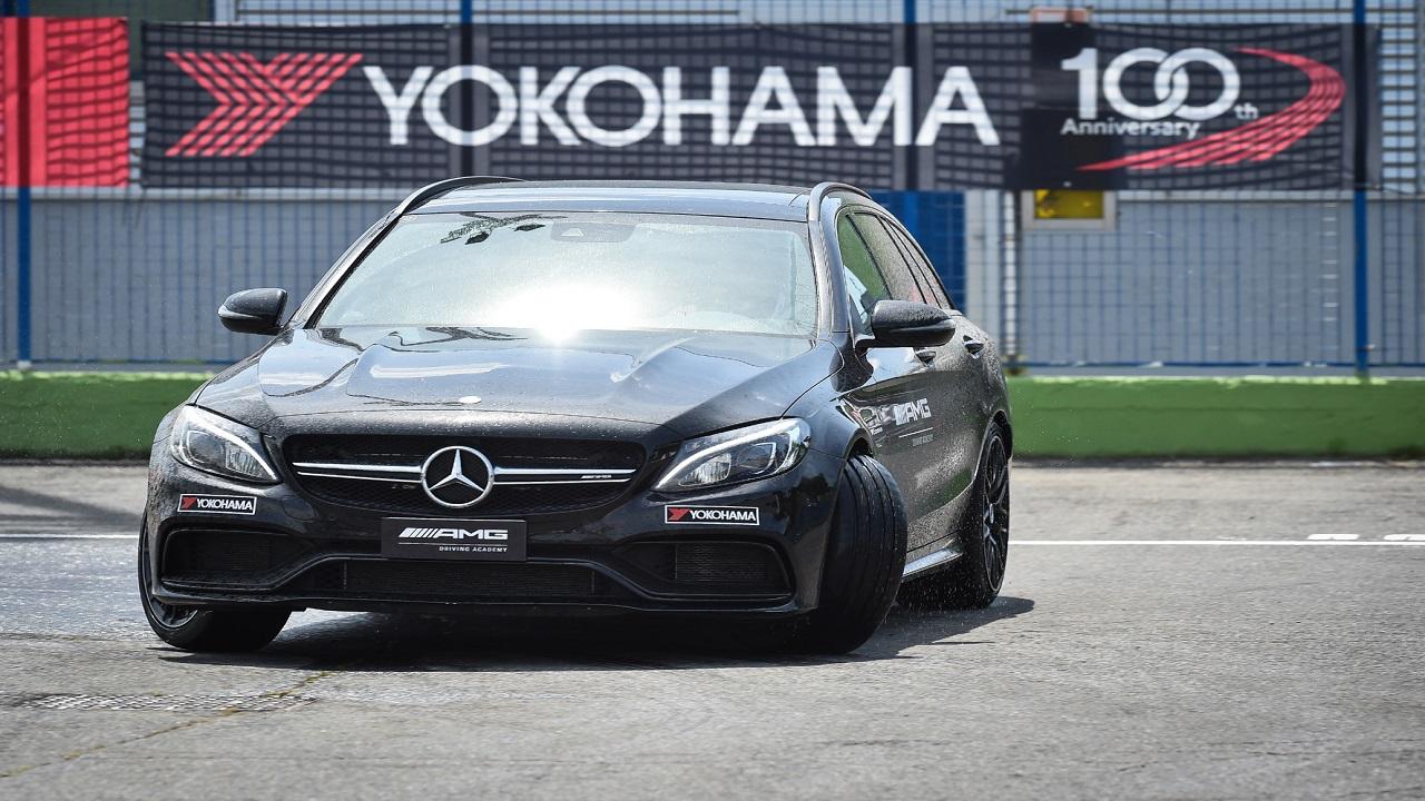 Yokohama ora in partnership con AMG Driving Academy Italia thumbnail