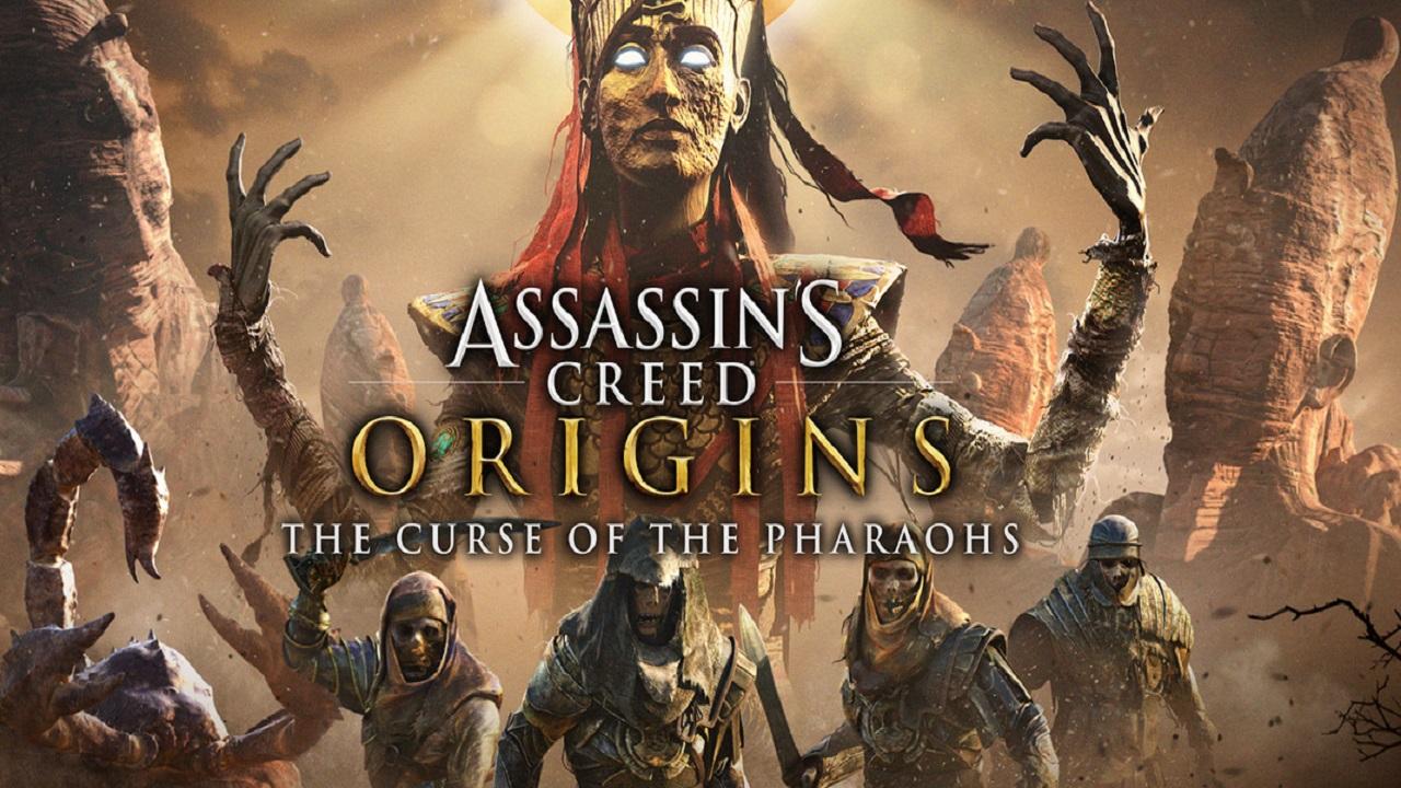 Arriva la nuova espansione Assassin's Creed Origins: La maledizione dei Faraoni thumbnail