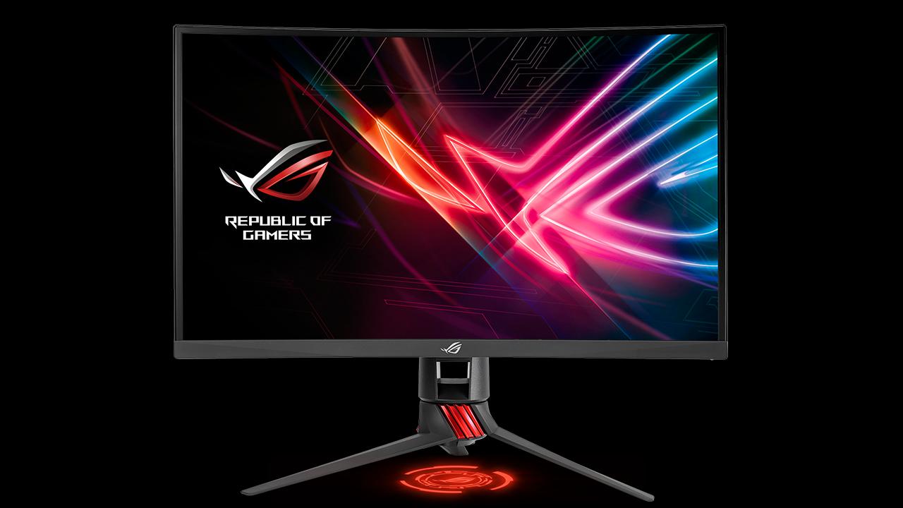Asus ROG Strix XG27VQ, il nuovo monitor gaming curvo thumbnail