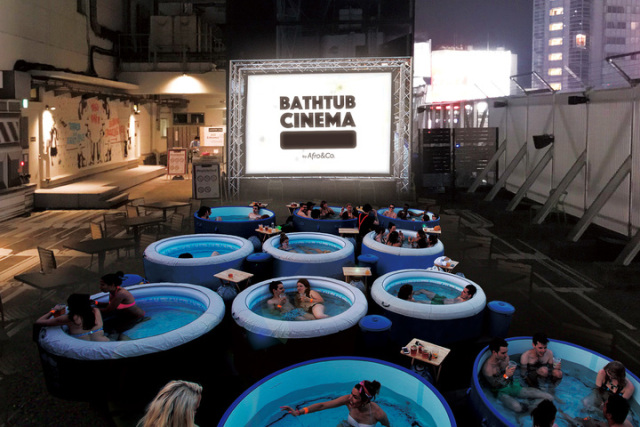 Il Bathtub Cinema sul tetto di Shibuya è la tappa più cool dell'estate! thumbnail