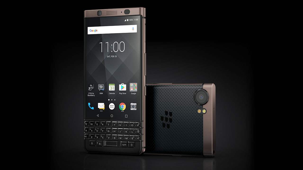 [CES 2018] Annunciato il BlackBerry KEYone Bronze Edition thumbnail