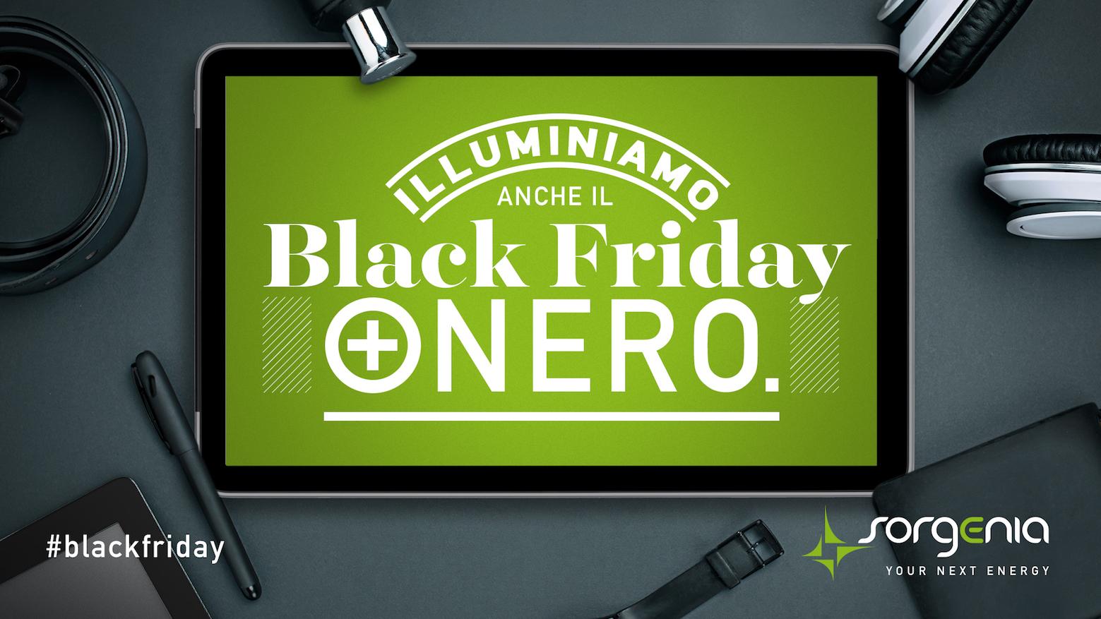 Sorgenia: black friday anche per il fornitore di luce e gas thumbnail