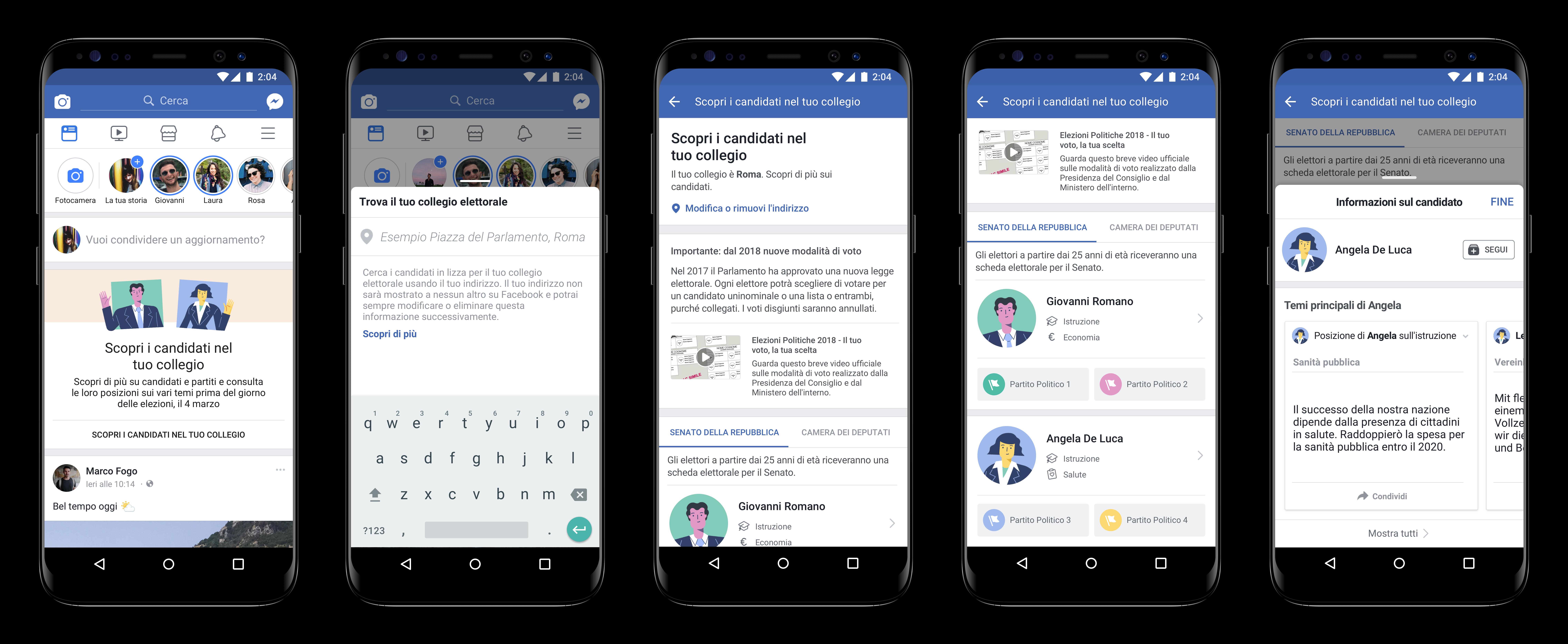 """Facebook lancia """"Candidati"""" per arrivare preparati alle Elezioni thumbnail"""
