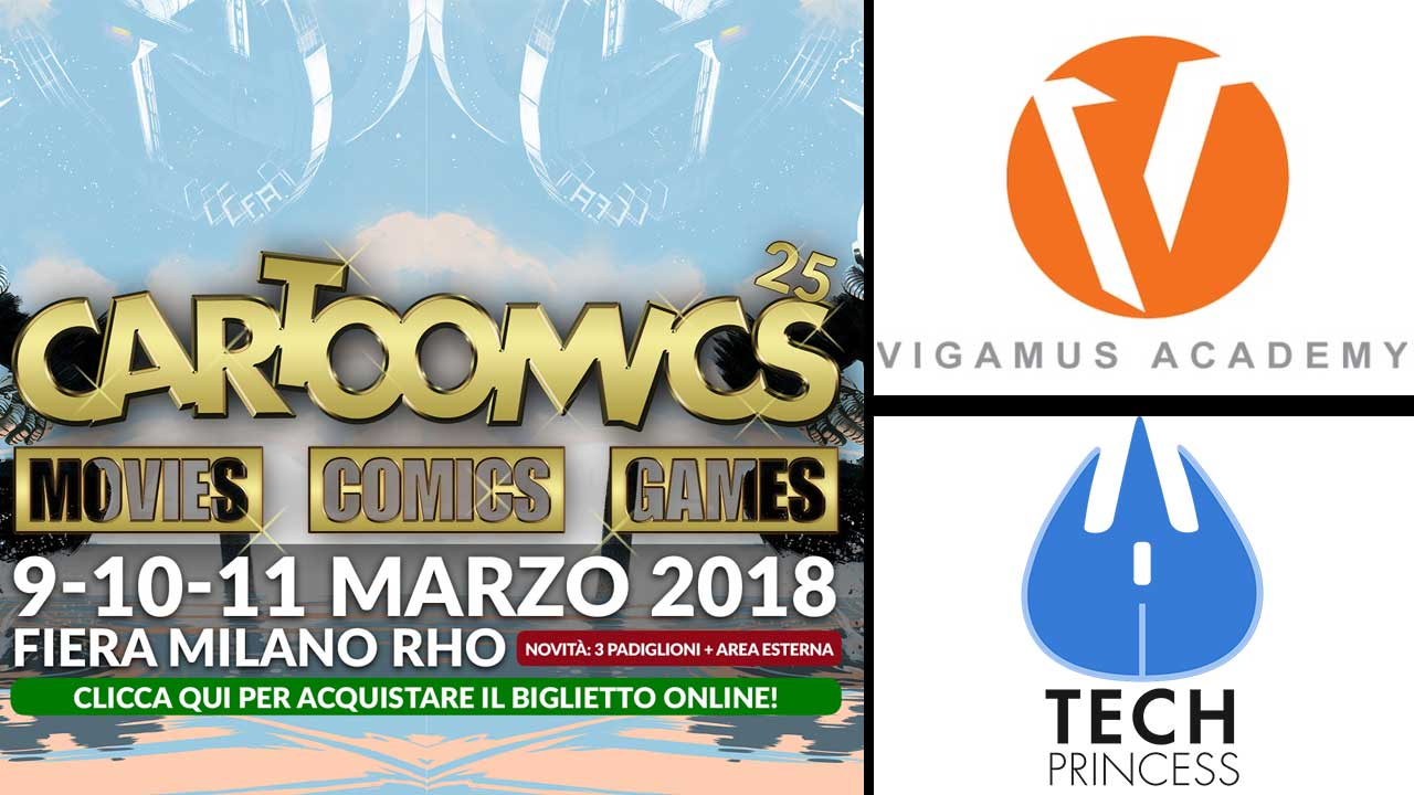 Cartoomics 2018: ci saremo anche noi! thumbnail