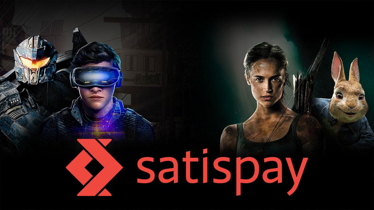 Da oggi potete pagare i film di Chili con Satispay thumbnail