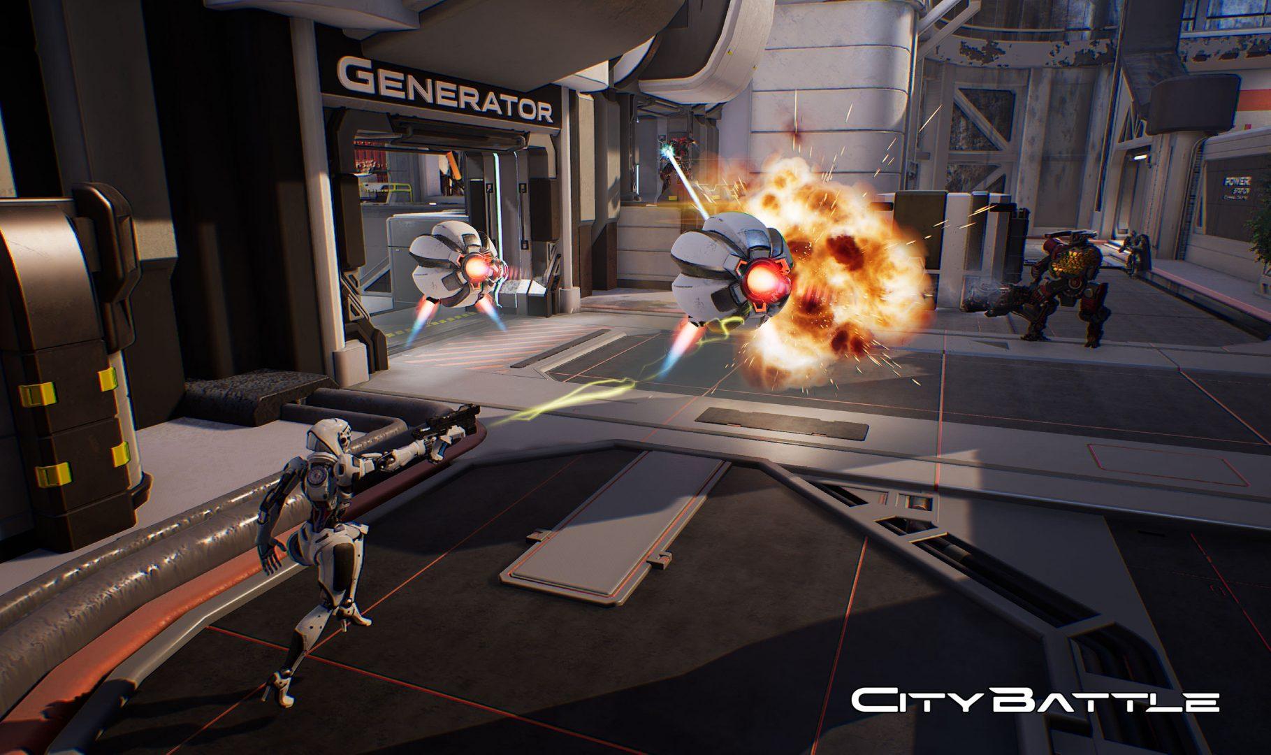 City Battle: annunciata l'uscita del nuovo MMOFPS su Steam thumbnail
