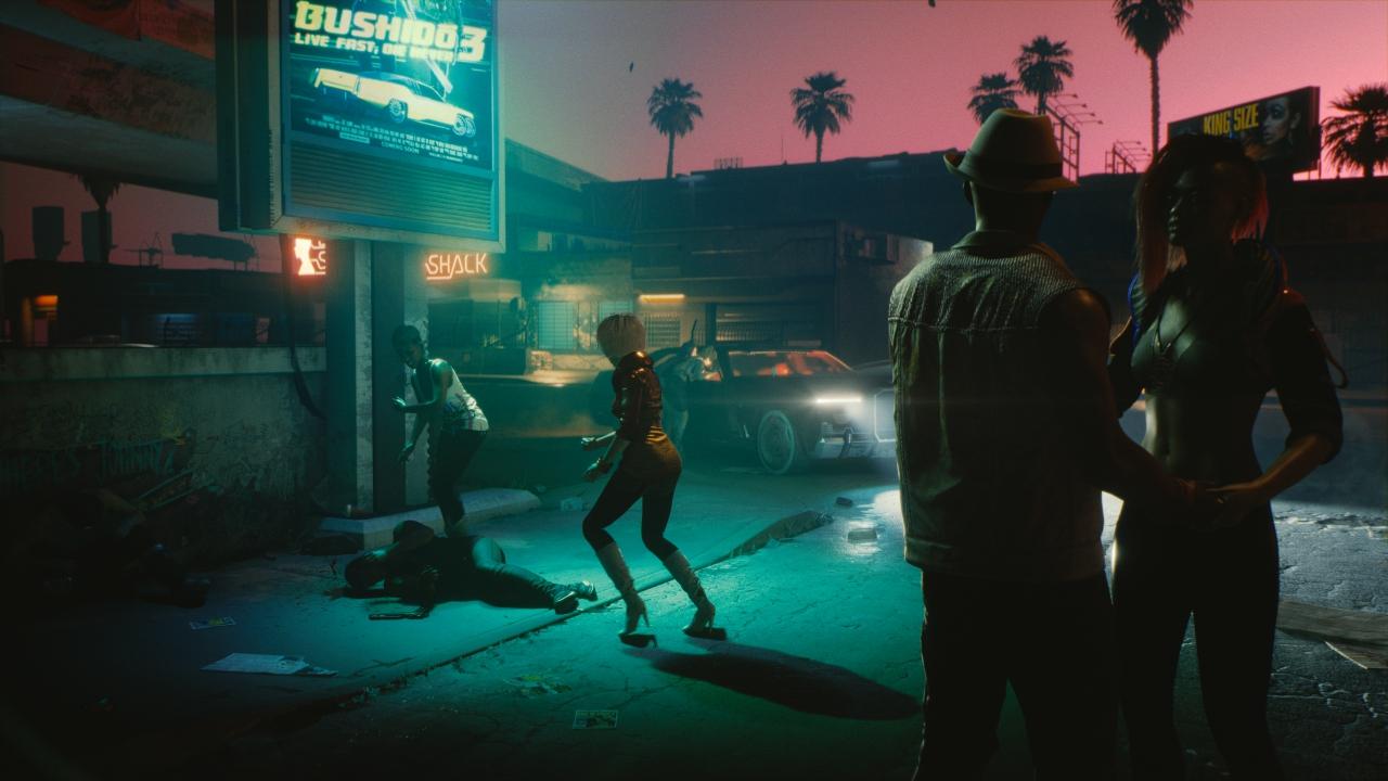 Un utente crea uno sfondo animato di Cyberpunk 2077 thumbnail
