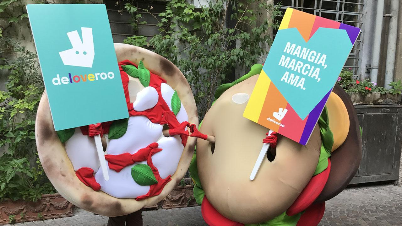 Deliveroo cambia nome per celebrare il MilanoPride 2017 thumbnail
