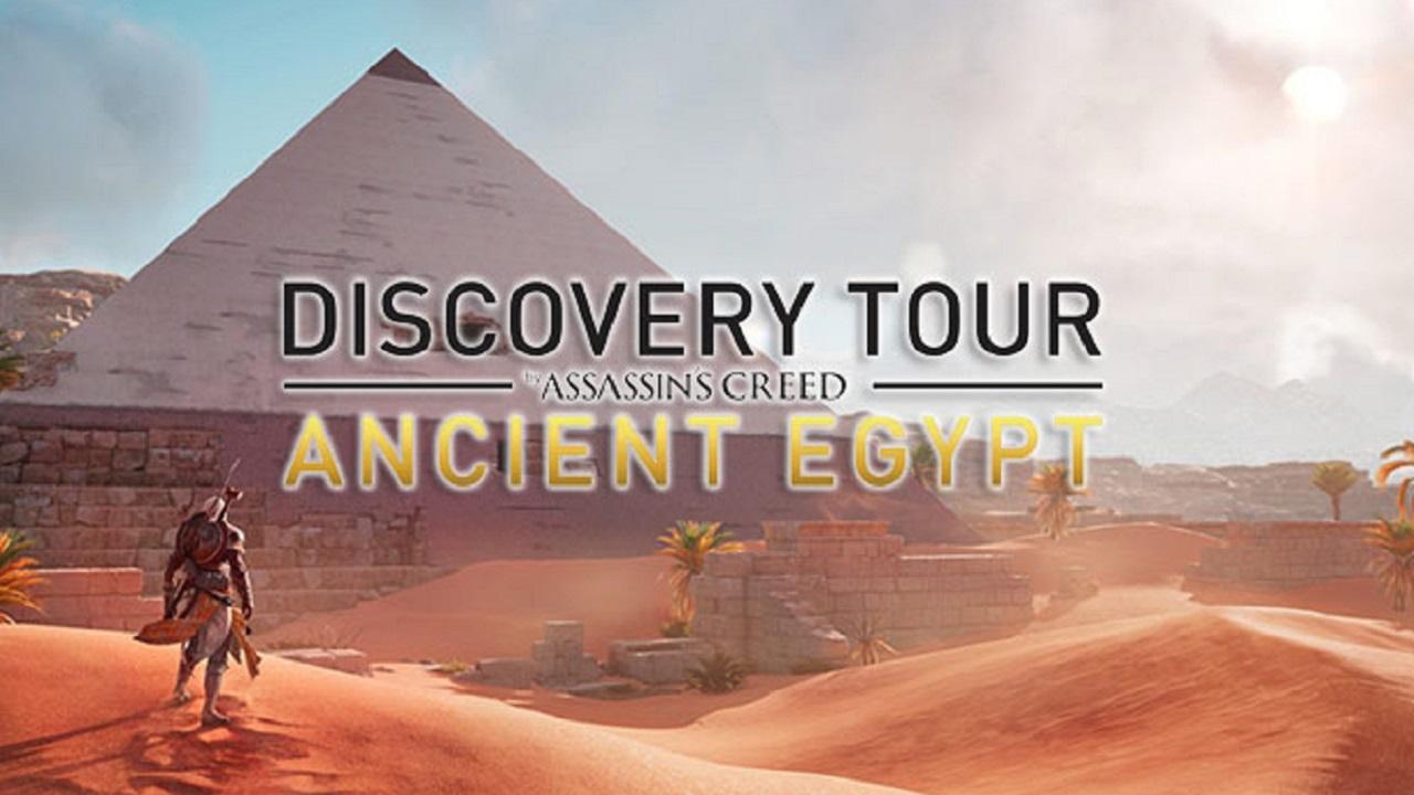 """Discovery Tour: impara la storia dell'Antico Egitto con la """"modalità didattica"""" di Assassin's Creed thumbnail"""