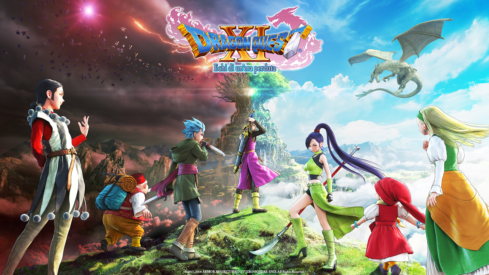 Dragon Quest XI: all'E3 2018 Square Enix presenta la Edition of Lost Time thumbnail