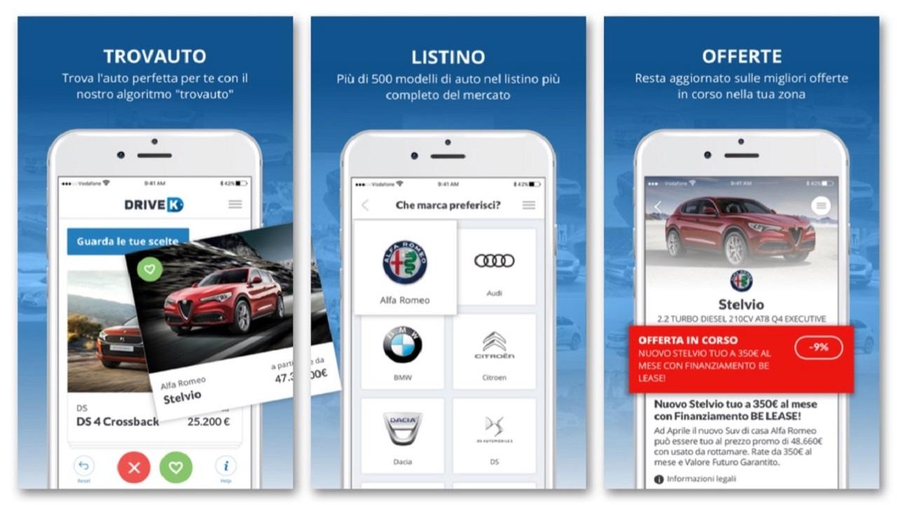 DriveK presenta l'app che sceglie l'auto giuste per te thumbnail