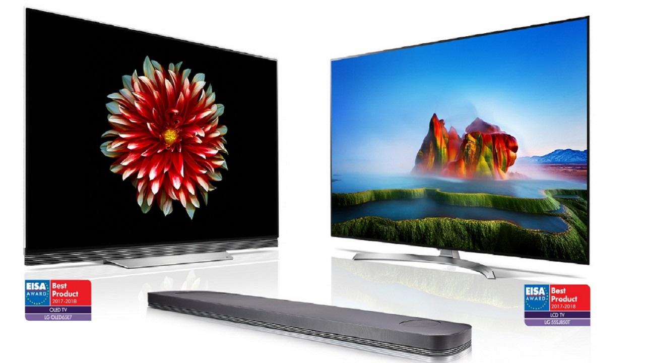 LG OLED TV ricevono il sesto premio consecutivo EISA thumbnail