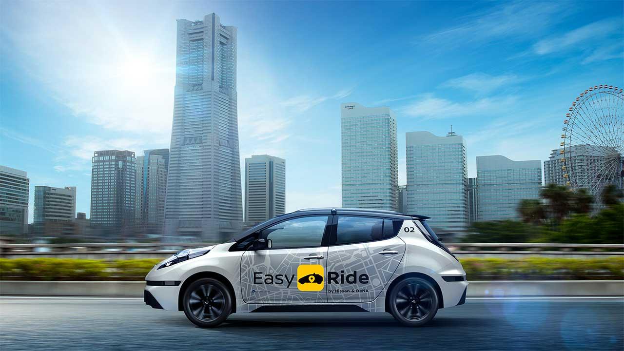 Easy Ride: come funzionerà il servizio di mobilità robotizzato di Nissan e DeNA thumbnail