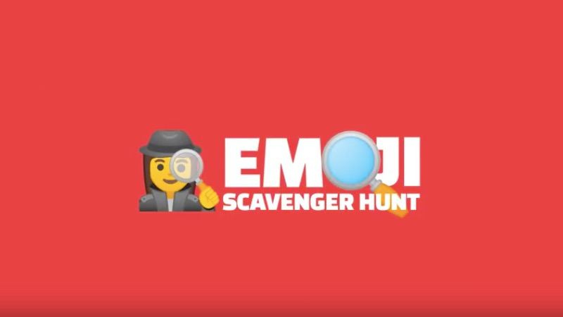 Emoji Scavenger Hunt Tech Princess