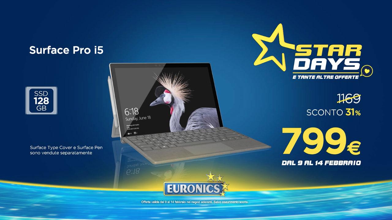 """Euronics lancia gli """"Star Days"""" per aiutarvi a scegliere il regalo di San Valentino thumbnail"""