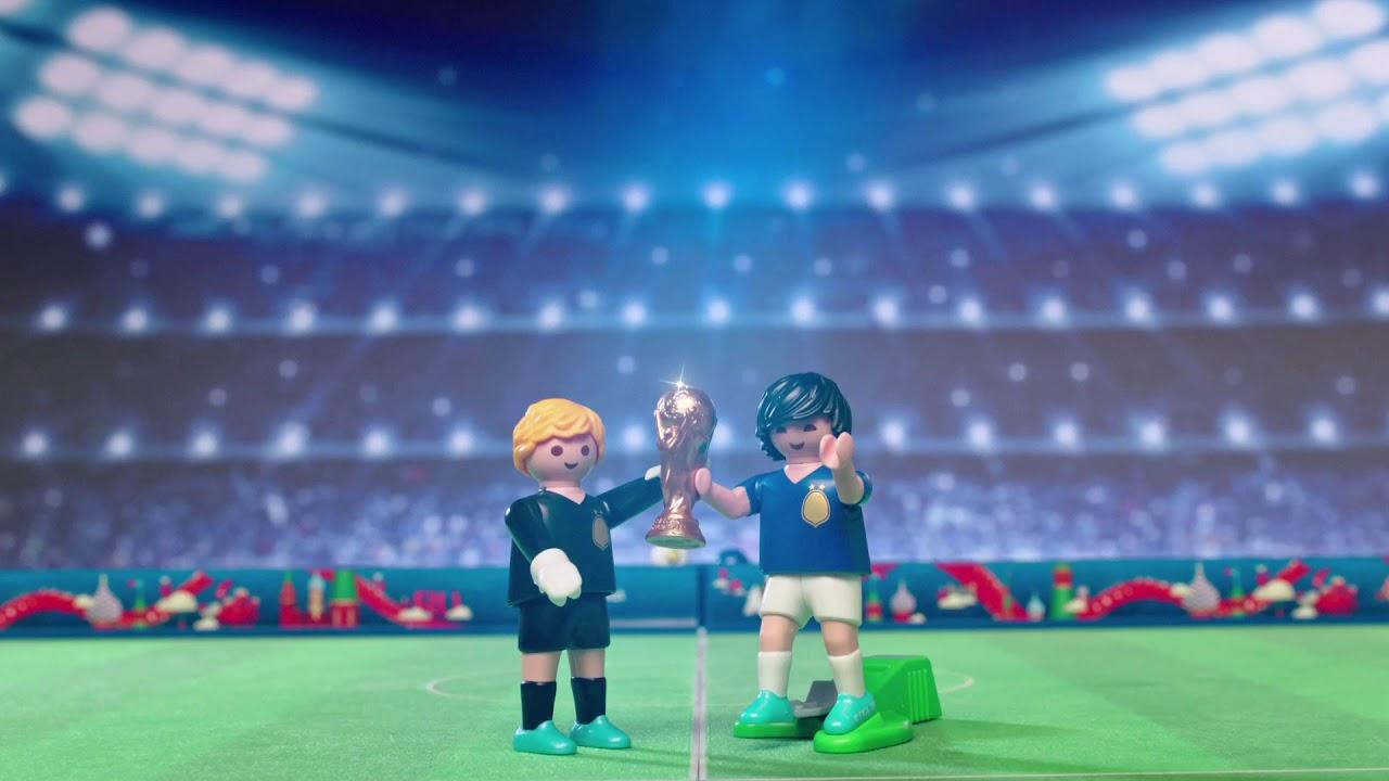 FIFA World Cup 2018, tifa la tua squadra con Playmobil thumbnail