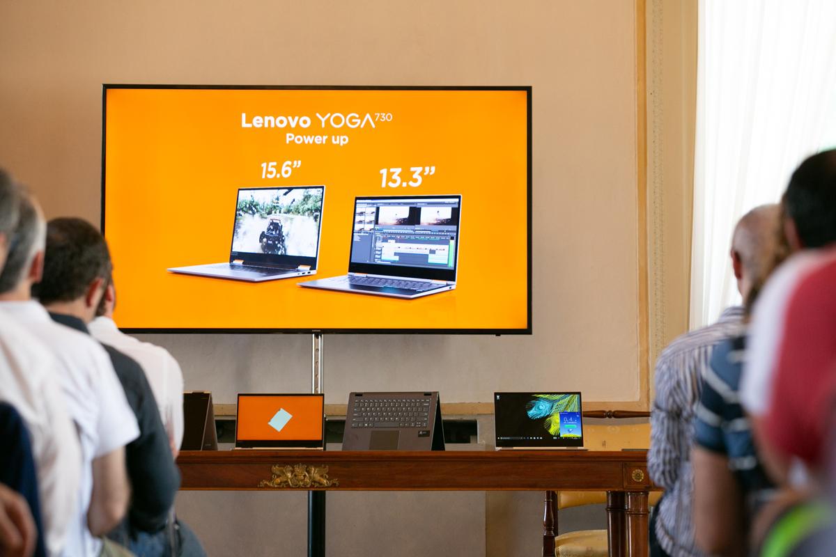 Lenovo presenta tutte le sue ultime novità durante lo Yoga Day thumbnail