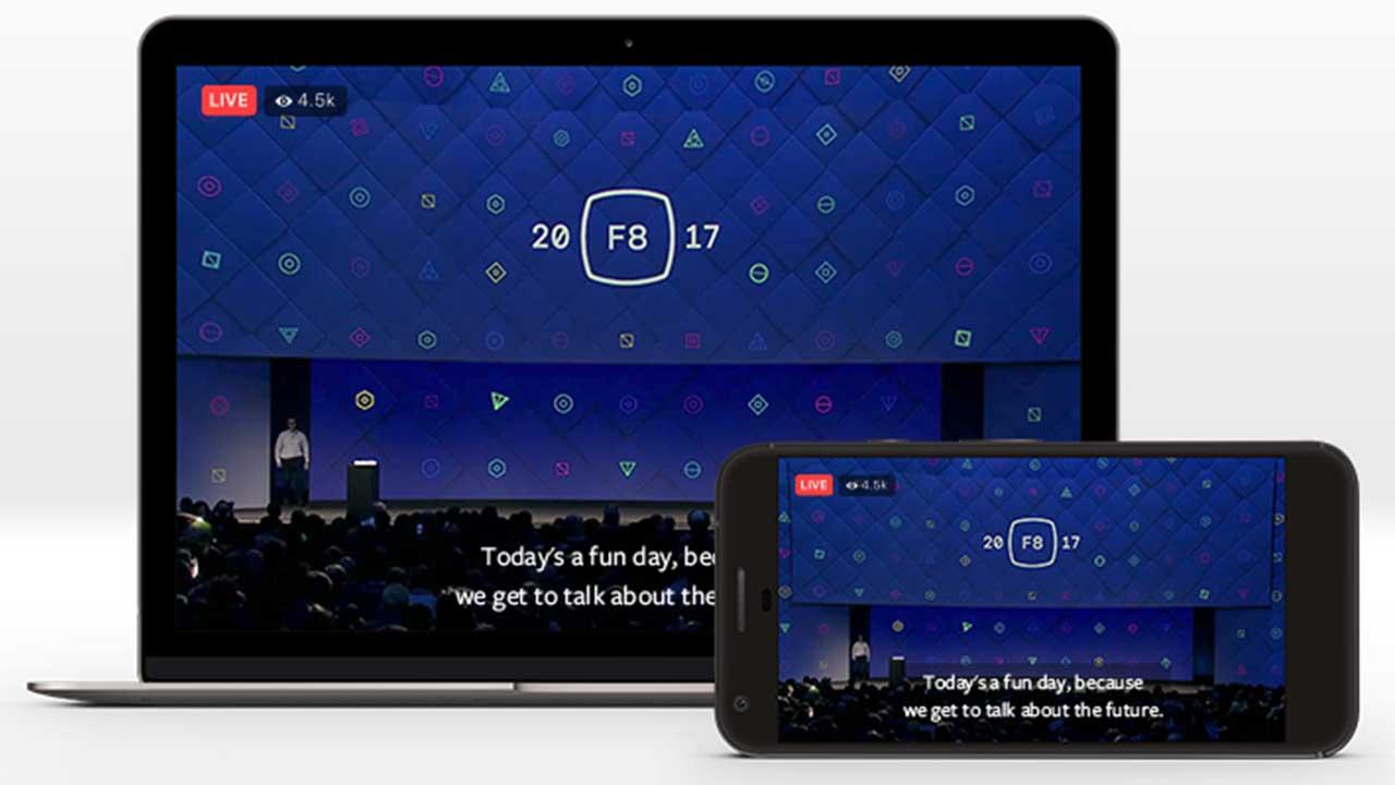Facebook: arrivano i sottotitoli nei video live thumbnail