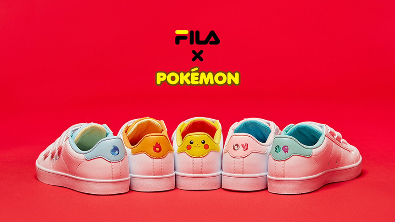 Fila porta le sneakers dei Pokémon in Corea del Sud thumbnail