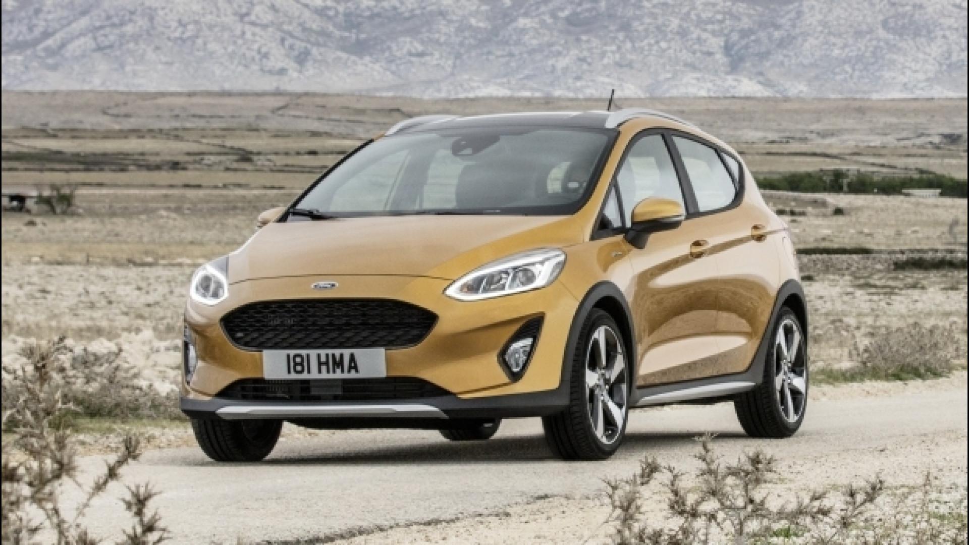 Ford Fiesta Active, grinta e audacia unite nel crossover dell'Ovale Blu thumbnail