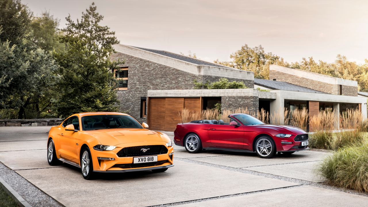 Veloce, tecnologica ed inconfodibile: vi presentiamo la nuova Ford Mustang thumbnail