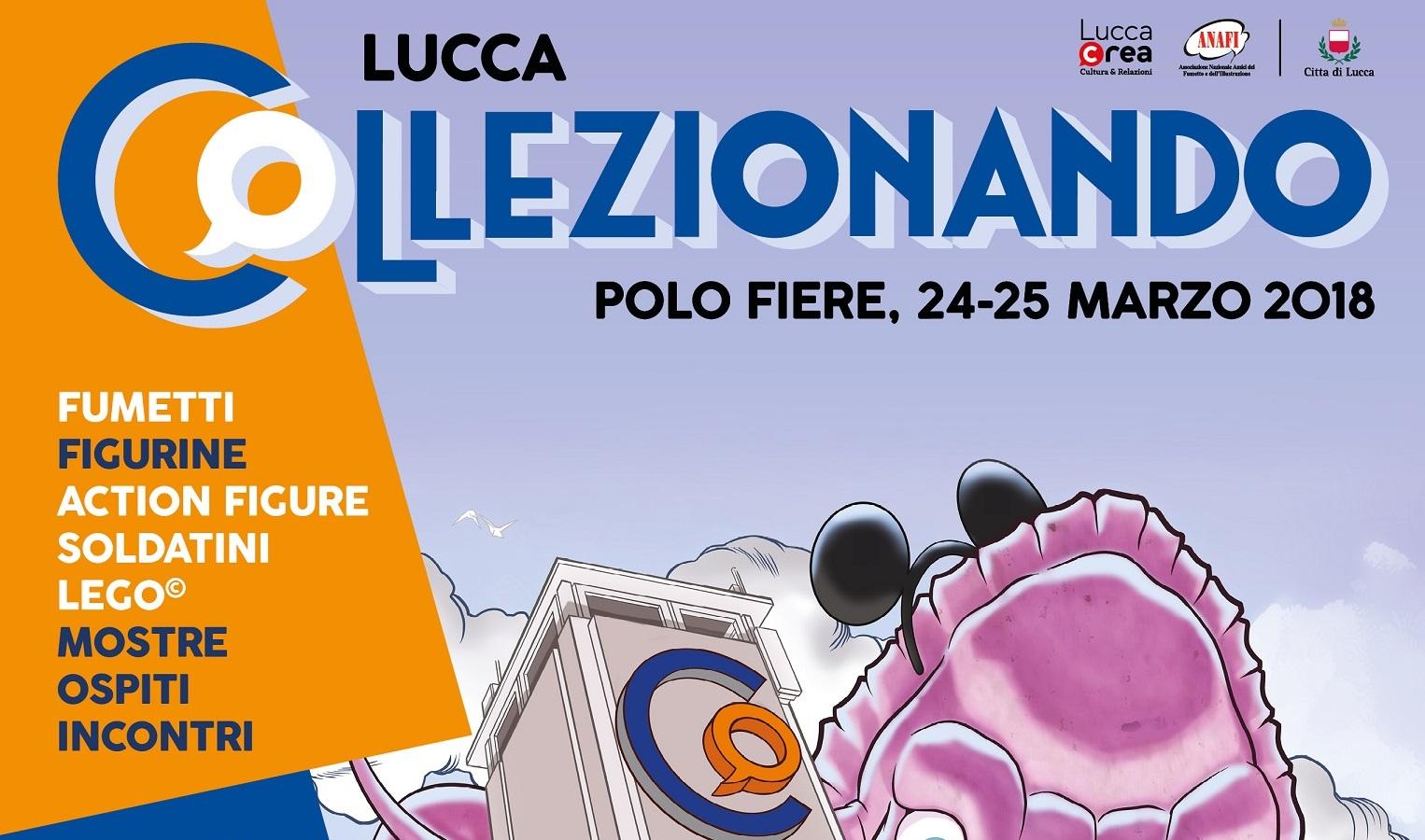 Collezionando 2018: tutti pazzi per la fiera di Lucca thumbnail