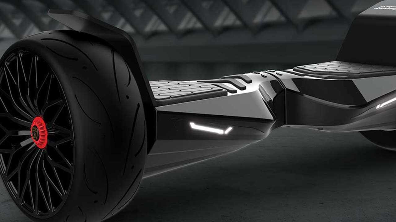 Glyboard Corse, il primo hoverboard di Lamborghini thumbnail