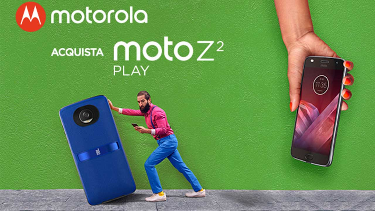 HelloMods in regalo per te: ecco la promozione per l'arrivo di Moto Z2 Play thumbnail