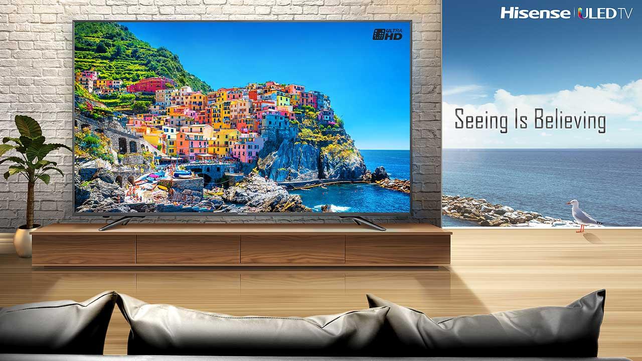 Arriva in Italia la nuova serie N6800 ULED di Hisense thumbnail