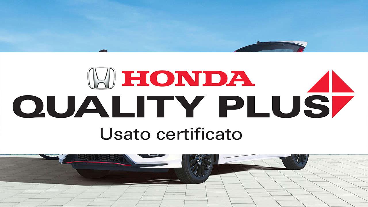 Honda Quality Plus, il nuovo programma di Usato Certificato thumbnail