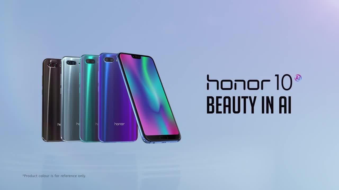 Honor 10 è ora disponibile sul mercato in nuove colorazioni thumbnail