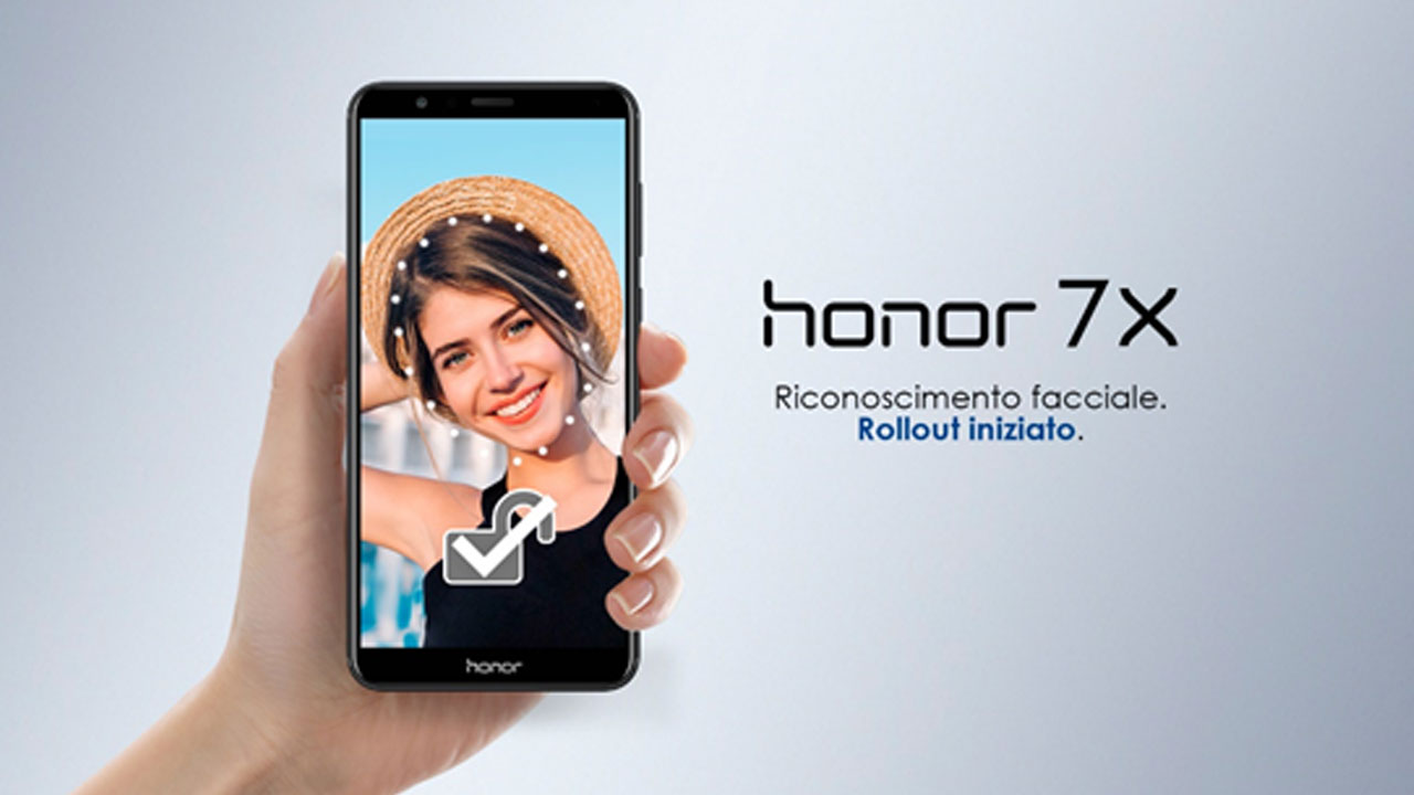 Honor 7X: arrivano lo sblocco facciale e la EMUI 8.0 thumbnail