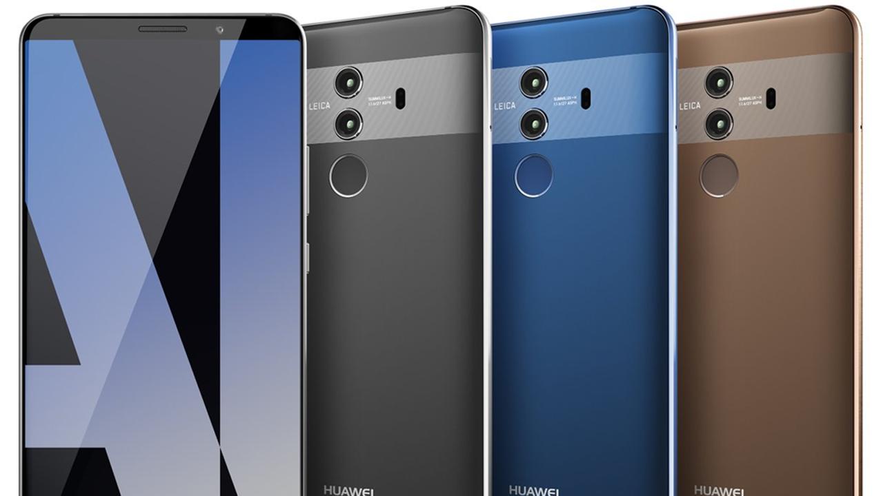 Huawei Mate 10 Pro: trapelato il rendering del nuovo smartphone cinese thumbnail