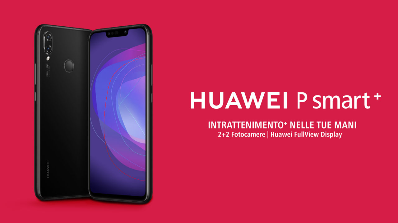 Huawei P Smart+, lo smartphone lanciato in esclusiva con Amazon thumbnail