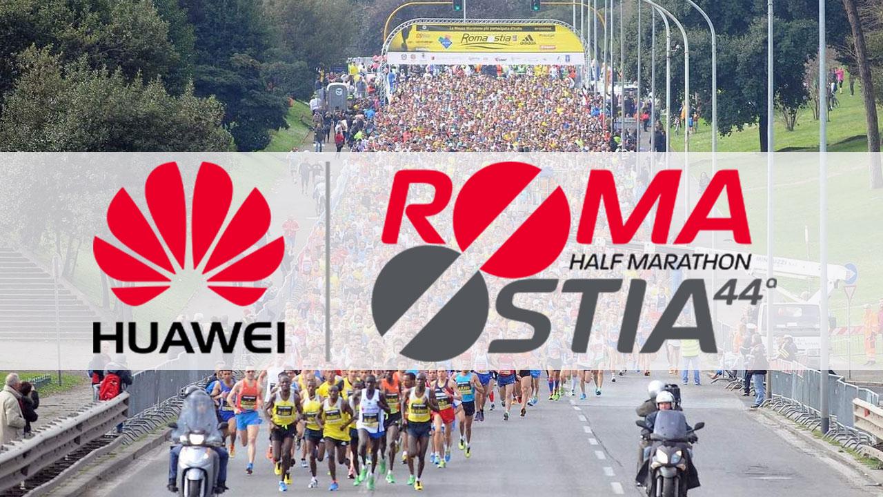 Huawei è Title Sponsor della RomaOstia Half Marathon thumbnail