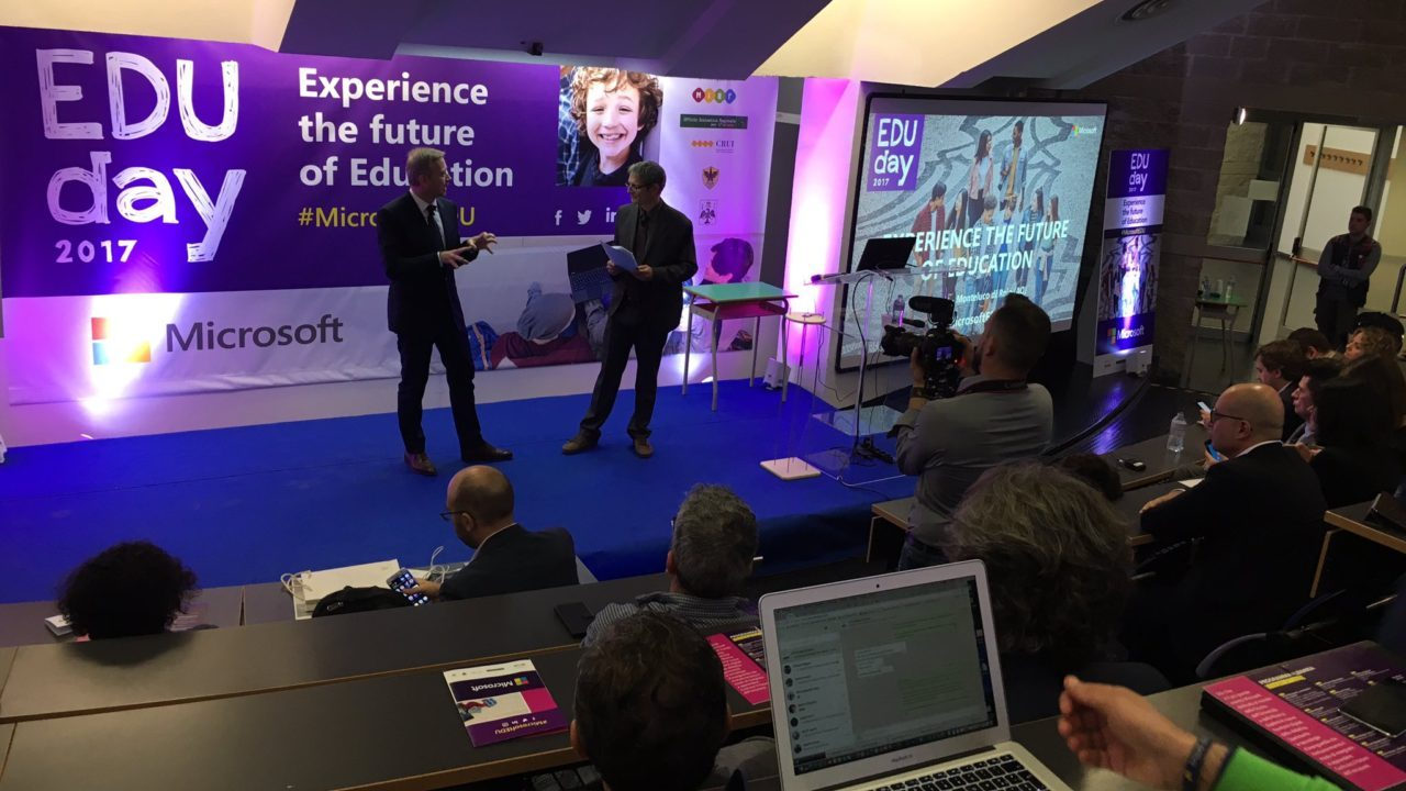 EDU DAY 2017: Microsoft presenta Skype in the Classroom thumbnail